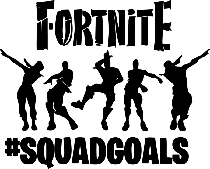 Fortnite Clipart Creativity Images Illustrations In 2020 Fortnite Cricut Silhouette