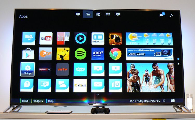 Android TV! This is the future of smart TV!