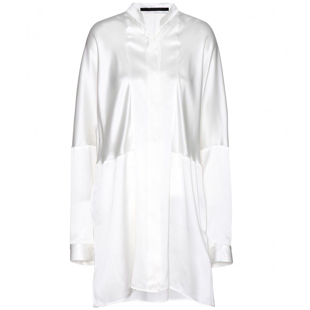 Haider Ackermann - Oversize-Bluse aus Seide - mytheresa.com
