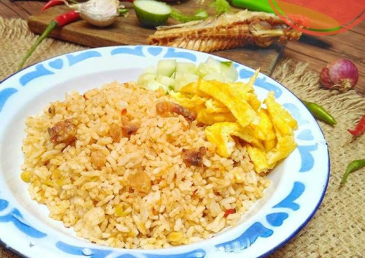 Resep Nasi Goreng Ikan Asin Jambal Pr2 Nasigoreng Oleh Kikynov Resep Resep Masakan Masakan Nasi Goreng