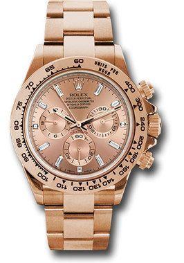 Rolex Watches: Daytona Everose Gold - Bracelet 116505 pbd
