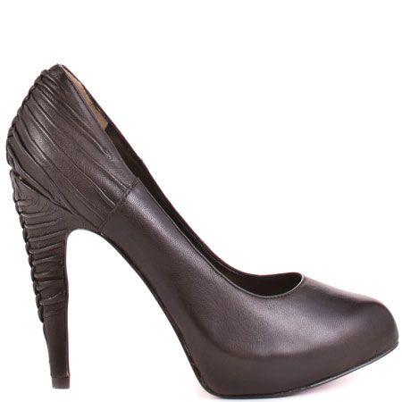Paris Hilton Nandi - Brown Leather from heels.com - Get up to 17% cashback when you buy through the DubLi portal! http://www.dubli.com/T0US16VR4