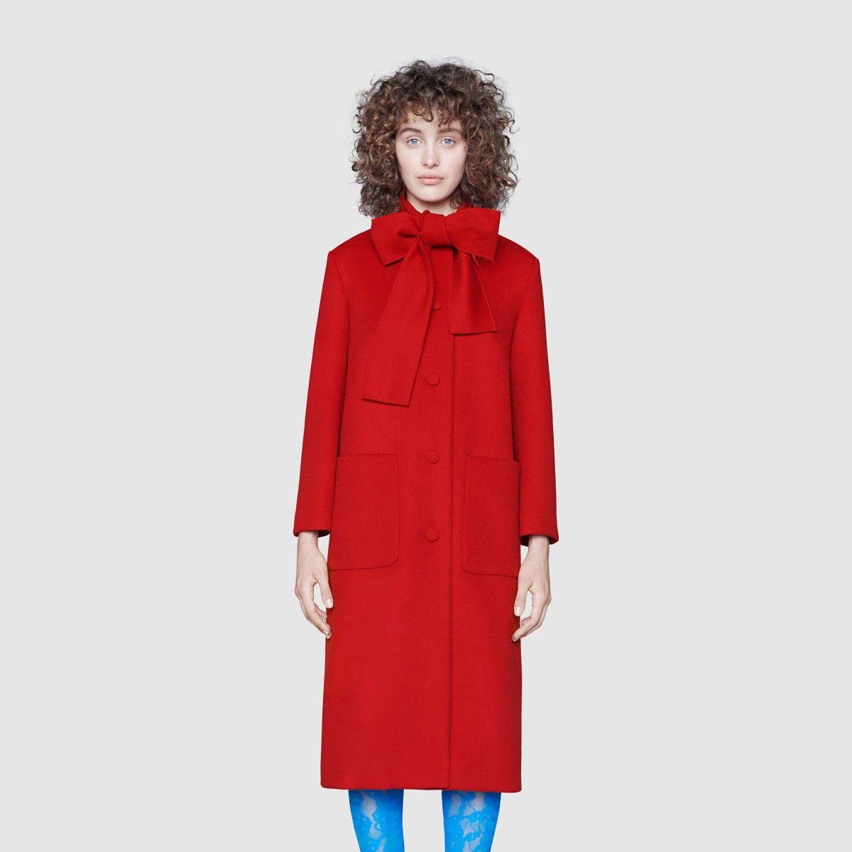 Gucci Wool Coat Fashion Coat Coats For Women [ 1200 x 1200 Pixel ]