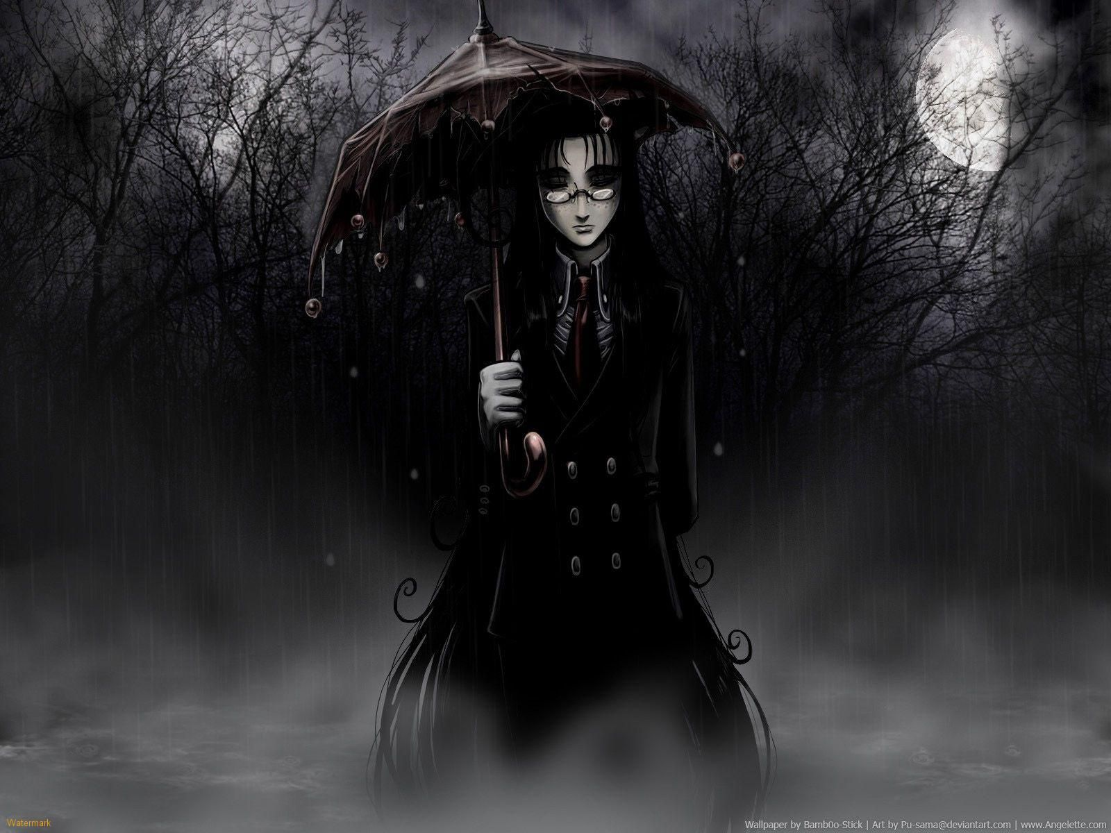 That Umbrella Looks Quite Neat Goth Wallpaper Black Background Wallpaper Mobile Wallpaper
