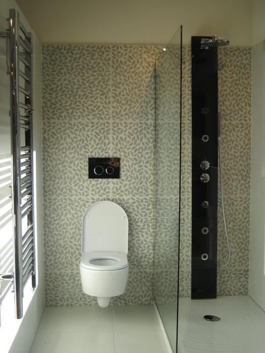 faence identique wc et douche - Decoration Douche Et Toilette