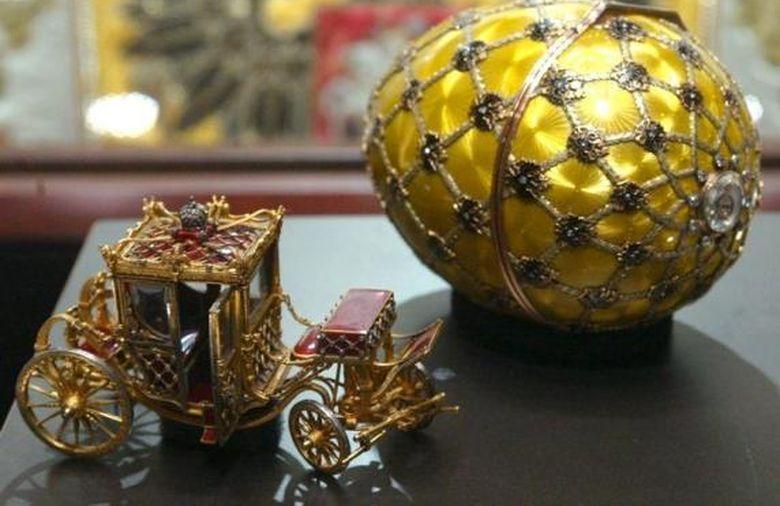 Huevo de Fabergé: la joya más valiosa se expone en Londres