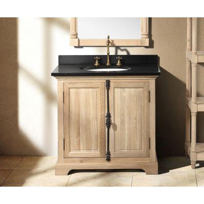 James Martin Solid Wood Genna Natural Oak Single Bathroom - Bathroom vanities fort myers