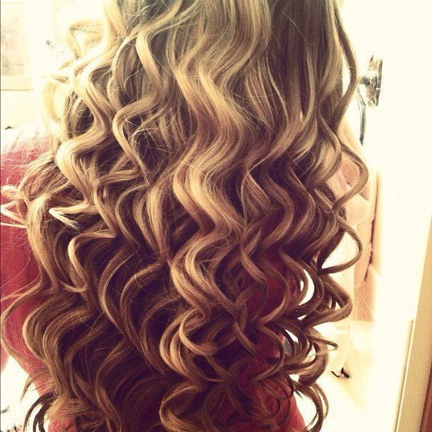 Thermal Curls Wand Used Hair Beauty Hair Styles Curly Hair Styles