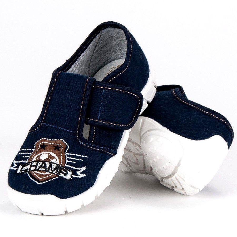 Kapcie Dzieciece Dla Dzieci Raweks Niebieskie Chlopiece Buty Domowe Raweks Baby Shoes Shoes Fashion