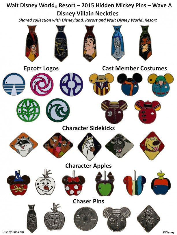344315f6b7c New Hidden Mickey Pins Coming Out in April | Best of ...
