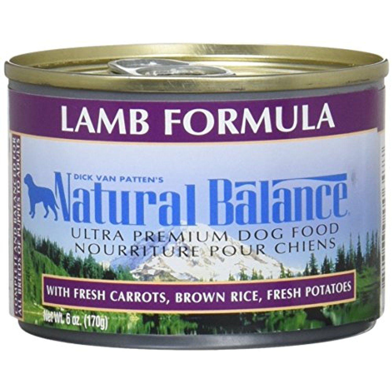 Natural balance pet food ultra premium dog food c anned