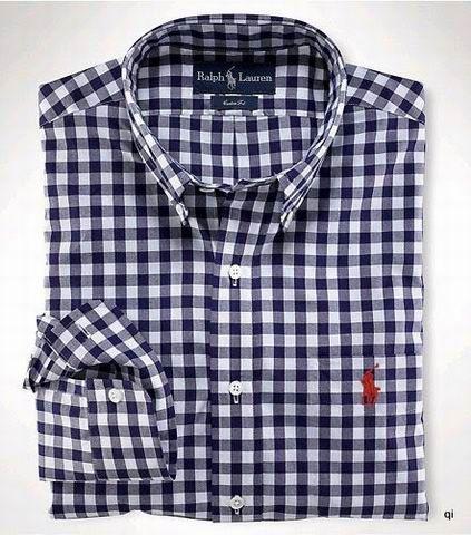 POLO Ralph Lauren Men Blue Plaid Shirt : ralph lauren black friday