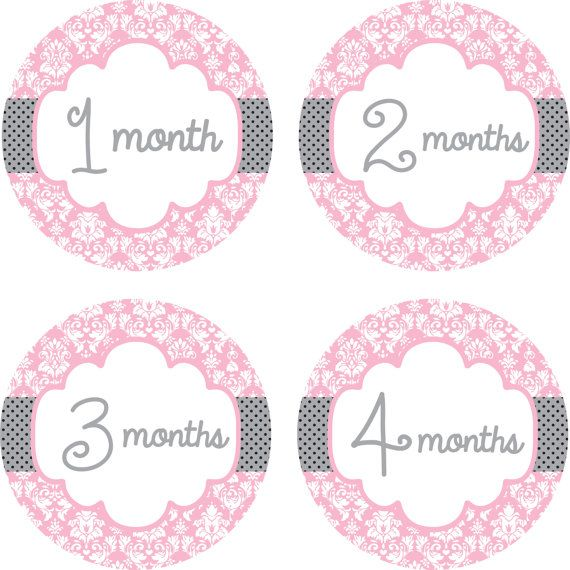 Baby Monthly Milestone Growth Stickers in Tribal Navy and Grey MS842 Baby Boy Shower Gift Tribal Nursery