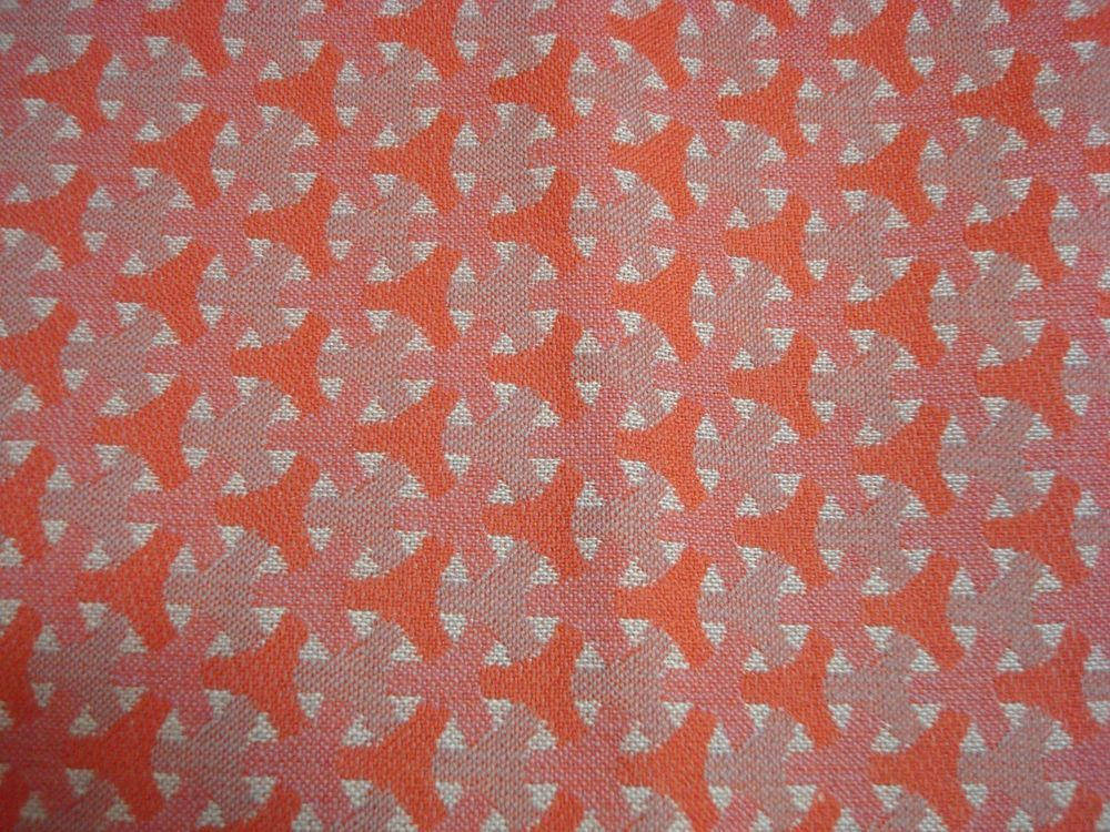 Vintage Fabric 60s / 70s Upholstery Cushions Bags 4 x pieces each 100cm by 130cm