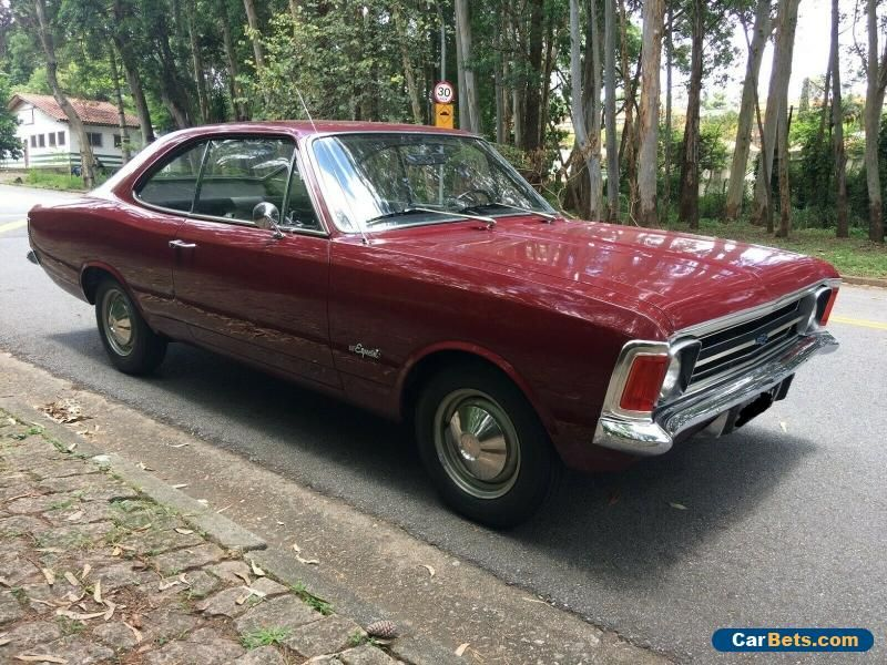 1974 Chevrolet Opala Especial Chevrolet Opala Forsale Canada