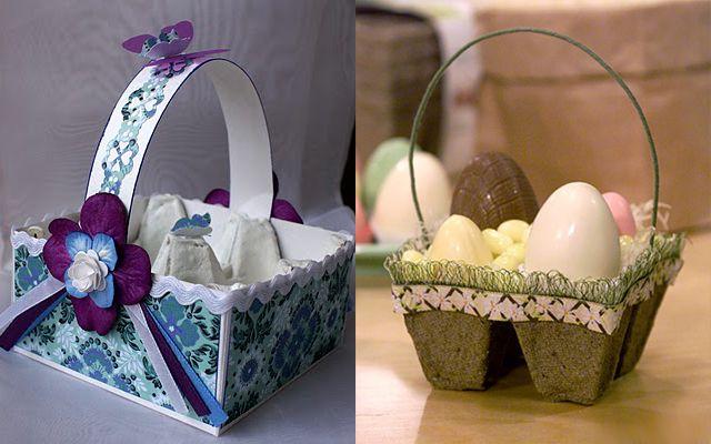 Корзинки для пасхальных яиц своими руками! (идеи и мастер ...