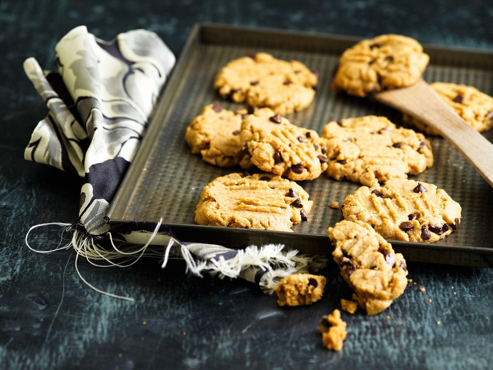 Voir la recette des biscuits au beurre de cacahuètes