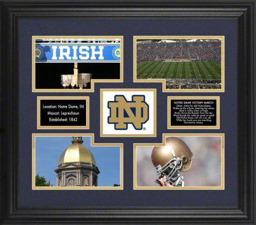 Notre Dame Fighting Irish 4-Photograph Framed Collage Mounted Memories http://www.amazon.com/dp/B006ZGO3KQ/ref=cm_sw_r_pi_dp_J4crub02S8JM0