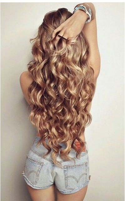 Soft Curls For Party 2017 Modren Villa Curly Hair Styles Hair Without Heat Long Hair Styles