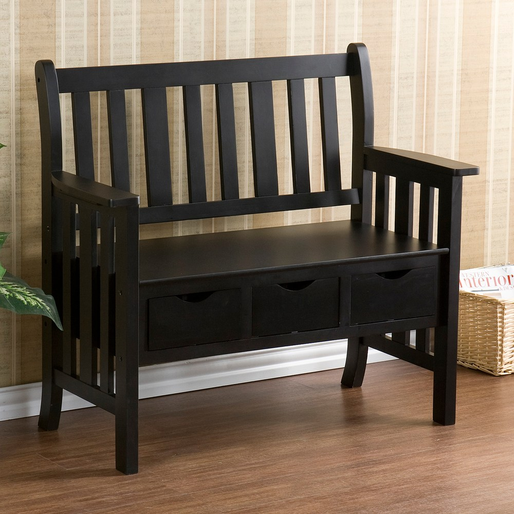 Country Bench Entryway