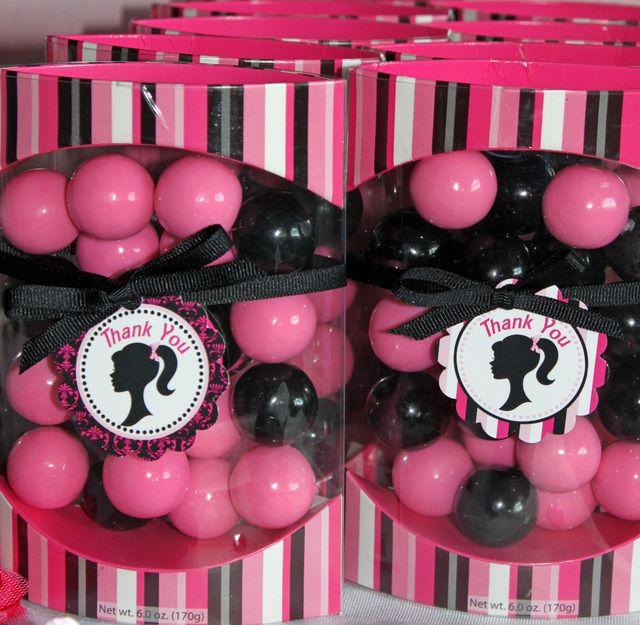 Barbie Zebra Theme 1st And 5th Birthday: Barbie Inspired Birthday Party Ideas
