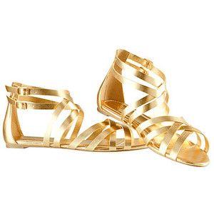 Starppy Golden Sandals 7 99 H M Zapatos Playa