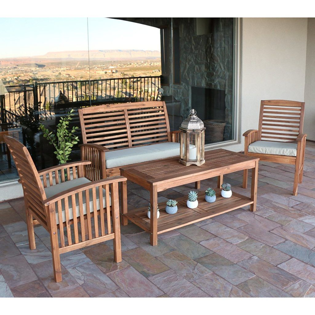 Patio Furniture Weights 11 Tips To Secure Your Outdoor Furniture With Images Wood Patio Furniture Outdoor Wood Furniture Teak Patio Furniture