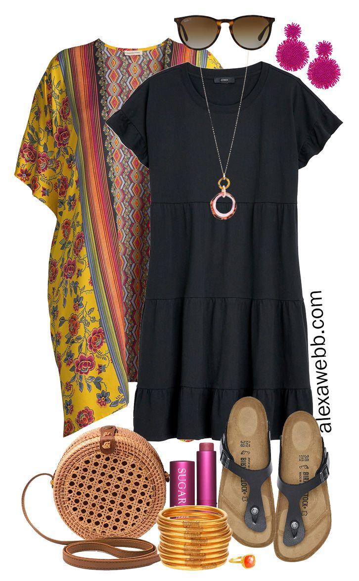 Plus Size Casual Summer Dress Outfits - Alexa Webb