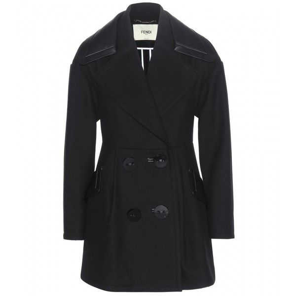 Fendi Double-Breasted Wool-Blend Jacket and other apparel, accessories and trends. Browse and shop 2 related looks.