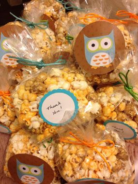 Owls Hoot at this DIY Boy Baby Shower for a Sister