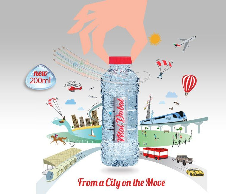 Mai Dubai Water Focused On Delivering Just The Right Range So You