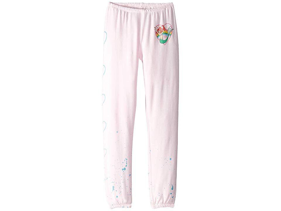 Big Kids Chaser Kids Girls Little Mermaid Extra Soft Cozy Knit Lounge Pants