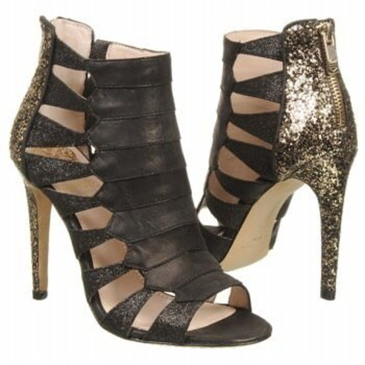 vince camuto glitter cage heels – Products