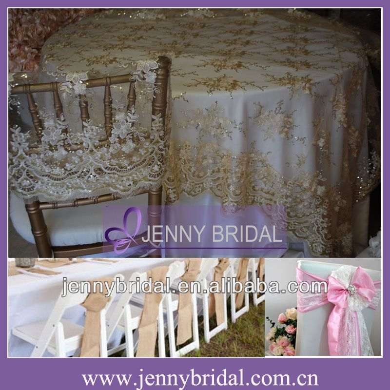 Tl002r2 fancy champagne wedding lace fabric 132 round table cloth tl002r1 new fancy champagne wedding and banquet lace table overlay table cloth weddingwedding tableswedding lacediy solutioingenieria Image collections