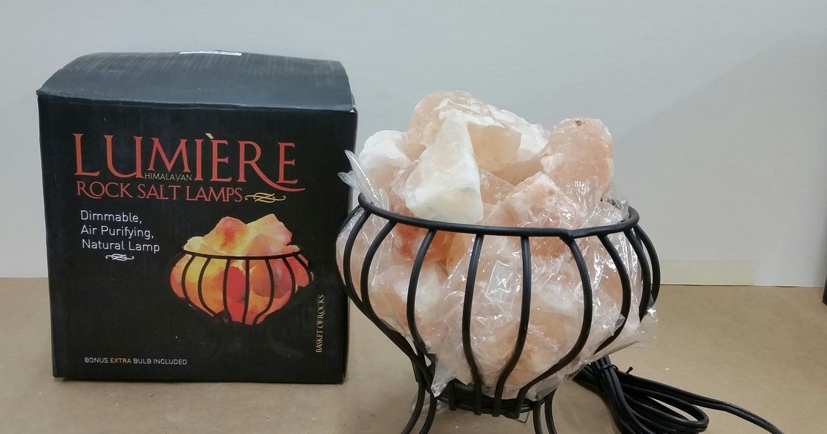 Lumiere Salt Lamp Michaels Recalls 80000 Himalayan Salt Lamps  News Himalayan And Salts