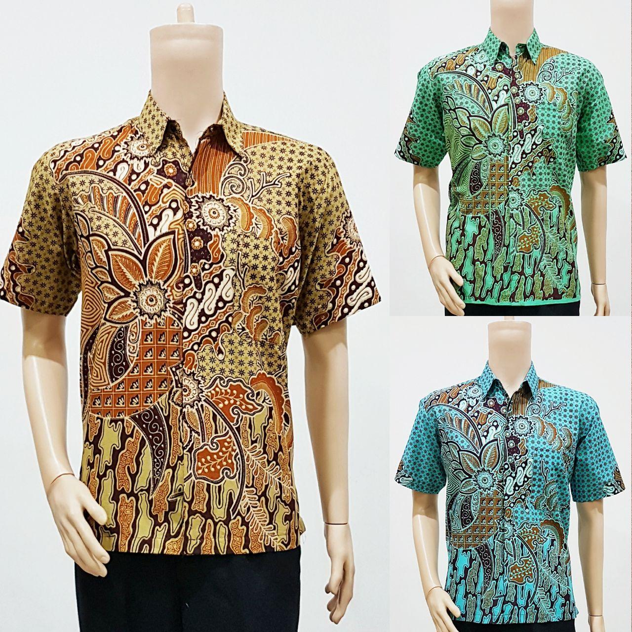 Harga Baju Batik Pria Lusinan: Model Baju Batik Pria Untuk Seragam Motif Minu 2018