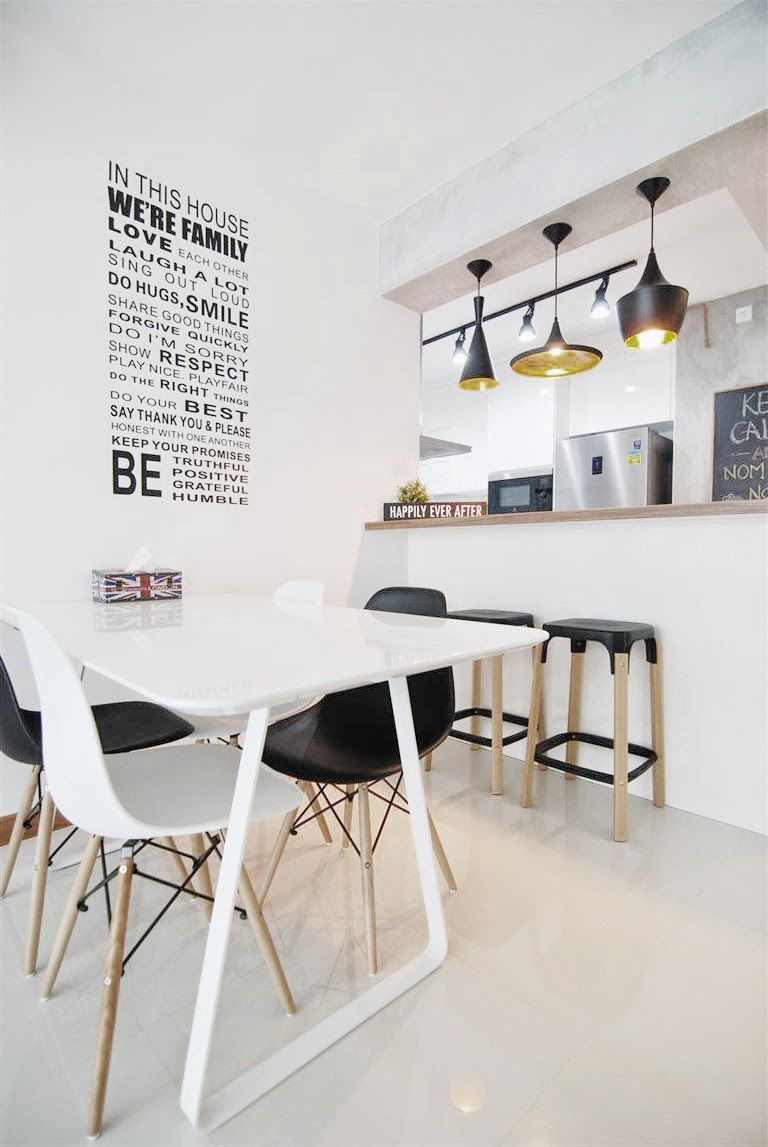 Butterpaperstudio reno room bto final photos of living and kitchen also best housing interior images bedroom ideas command centers rh pinterest