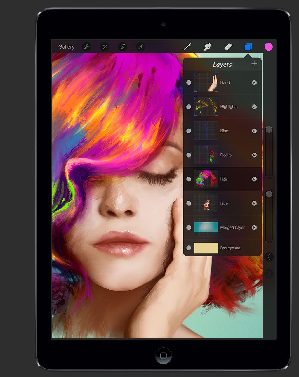 Procreate Limitless Creativity Digital Artwork Ipad Art Procreate Tutorial