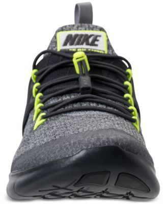 815881c8fdfb Nike Men s Free Run Commuter 2017 Wide Running Sneakers from Finish Line -  Black 11.5