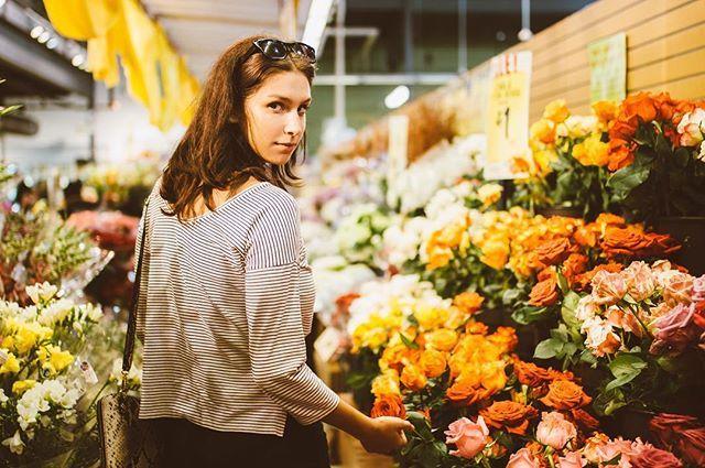 WEBSTA @ paytonhartsell - Roses on rosesModel: @britcristianoBridgit Mendler's music is so slept on js