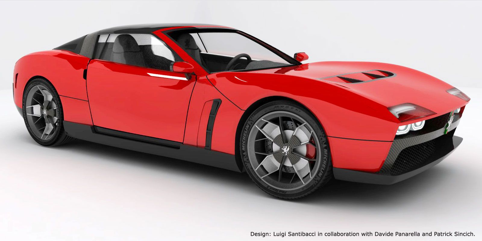 Grifo Ir10 Concepts Follow The Line Of Pure Italian Supercars Super Cars Automobile Concept
