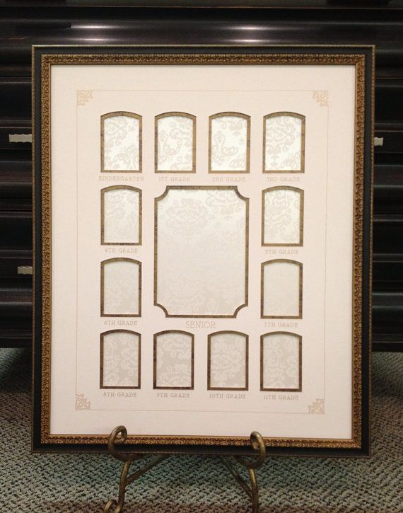 School Years Keepsake Frame Fits Your Childs School Pictures From