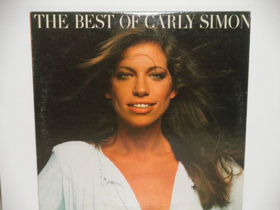Carly Simon  The Best of Carly Simon  Elektra by notesfromtheattic, $8.00