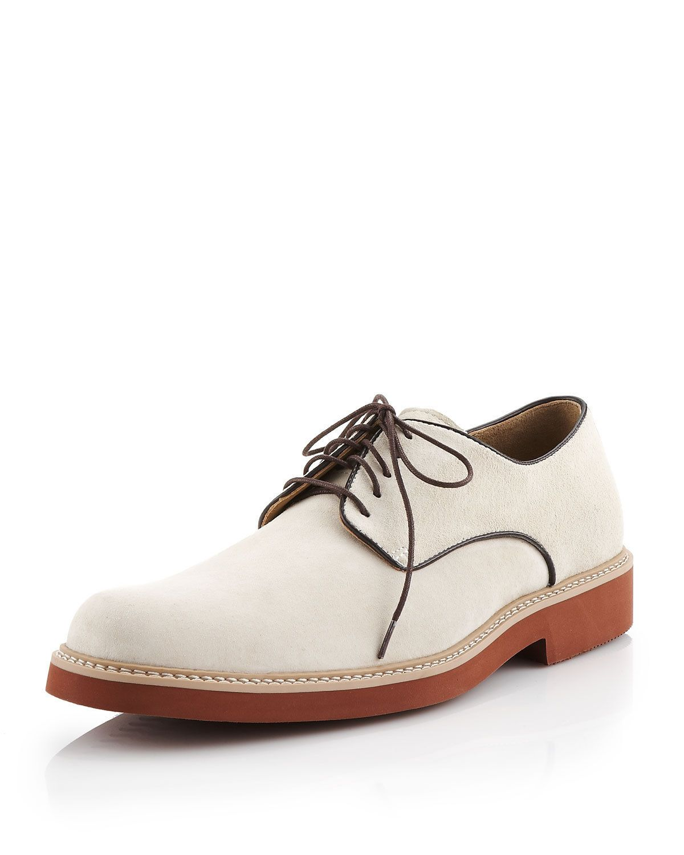 white bucks! | Suede oxfords, Oxford