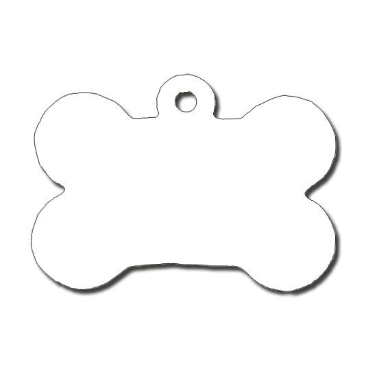Pet Tag  Dog Bone Shaped  Case Of   Vector    Dog