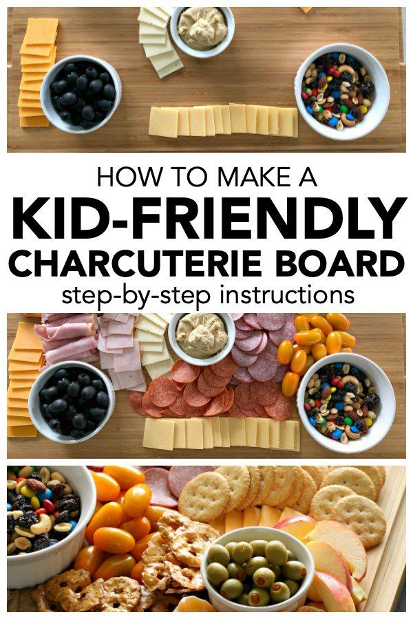 How To Make A Kid-Friendly Charcuterie Board [Step-by-Step Instructions] #charcuterieboard