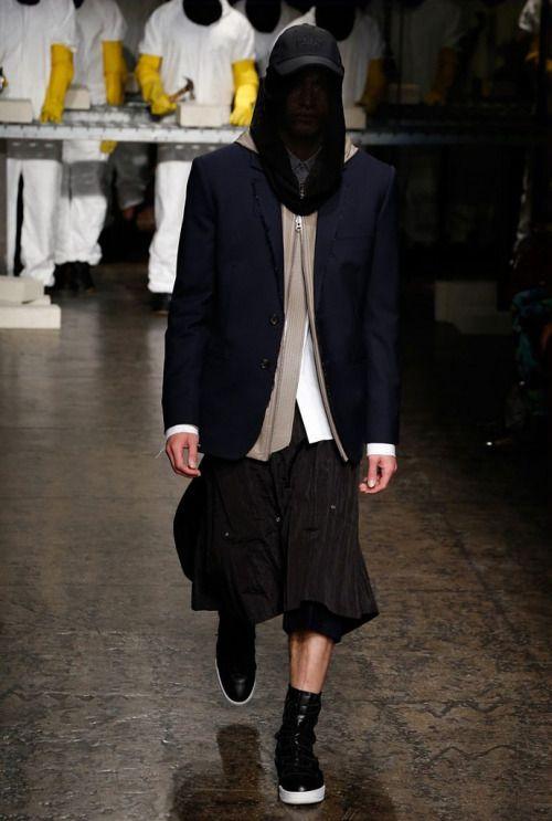 Public School Spring 16.  menswear mnswr mens style mens fashion fashion style runway publicschool