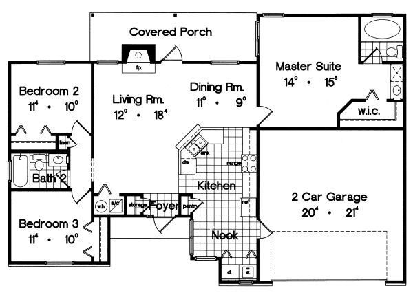 Pin By Lindsey Harrison On For The Home Ranch Style House Plans Ranch House Plans New House Plans