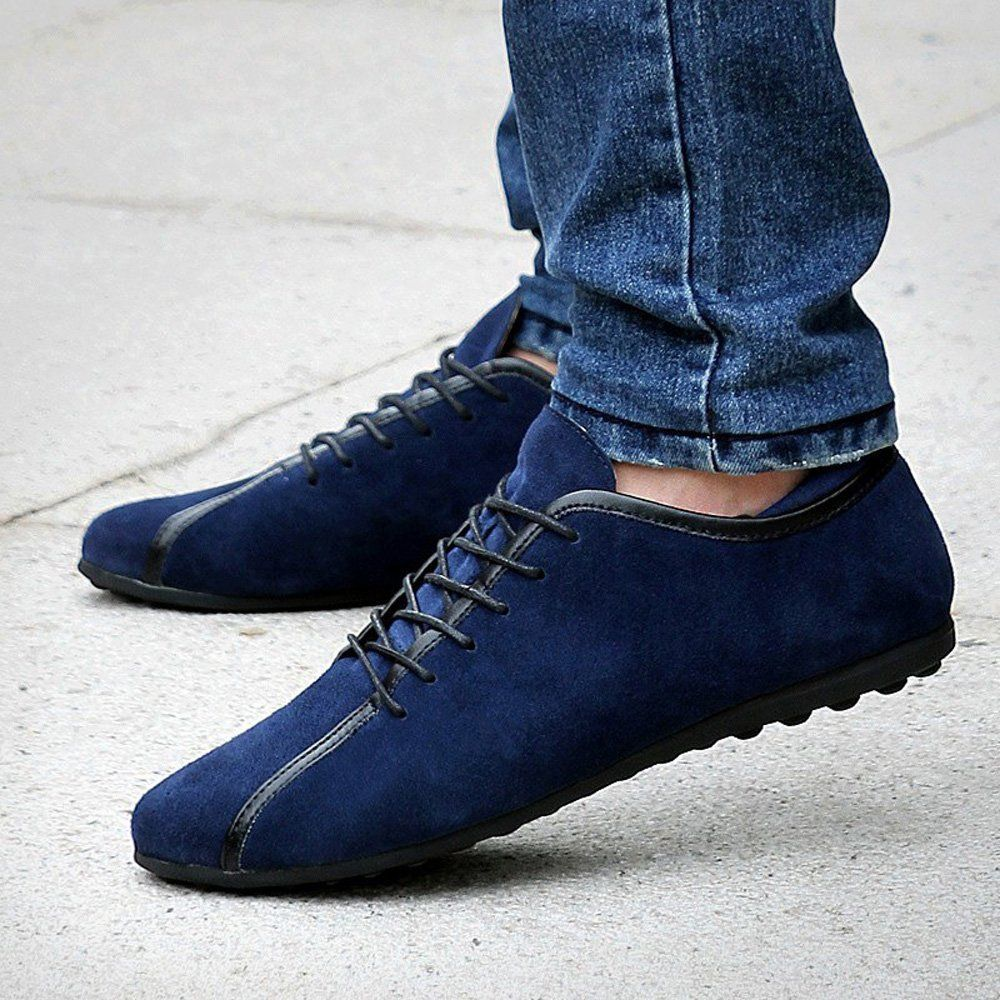 taille 40 032bd cb34d Amazon.com | YZHYXS Men Casual Shoes Lace Up %100 Genuine ...