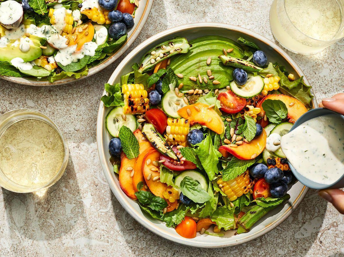 Endless Summer Salad Recipe Recipe Summer Salads Summer Salad Recipes Salad Recipes [ 899 x 1200 Pixel ]